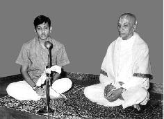 Ramaswami with Krishnamacharya in 1968